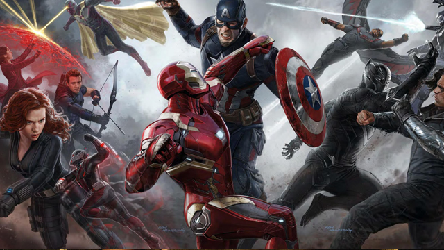 The Avengers movies timeline continues with Civil War!