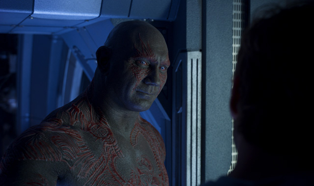 Interview: Dave Bautista Hears Your Deepest, Darkest Secret in Guardians 2
