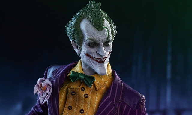 Hot Toys Joker Collectible Figure from Batman: Arkham Asylum