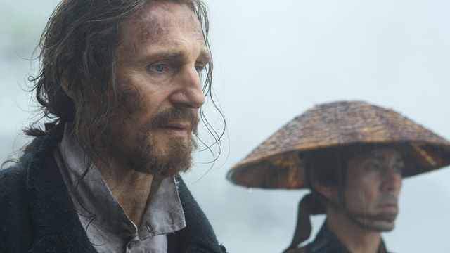 Liam Neeson discusses his performance in Silence!