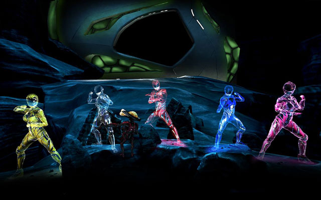 Power Rangers Images from CES