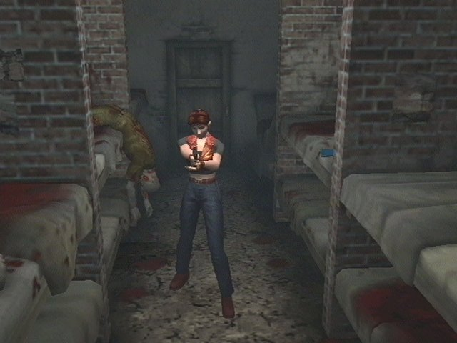 The Resident Evil game story continues in Codename Veronica.