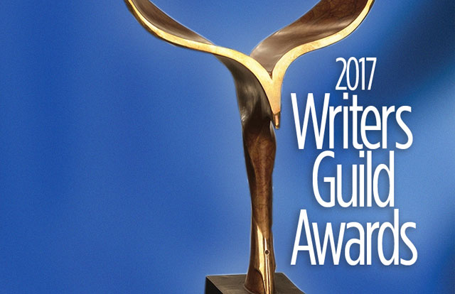 2017 Writers Guild Awards Nominations Announced