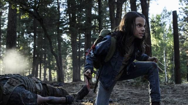 X-23 Unleashed in New Logan Photos