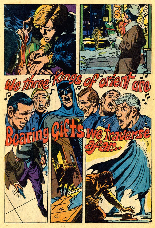 Here's one of the Batman stories wherein Batman sings!