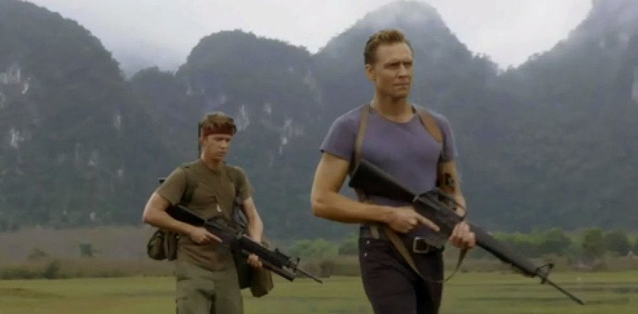 Tom Hiddleston headlines the Skull Island cast.