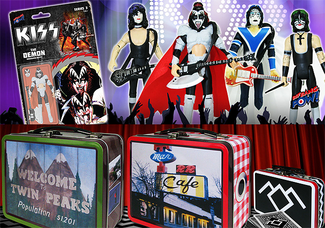 Twin Peaks & Kiss Toy Fair Gallery from Bif Bang Pow!