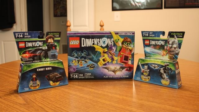 Unboxing and Building the LEGO Dimensions Wave 7.5 Sets!