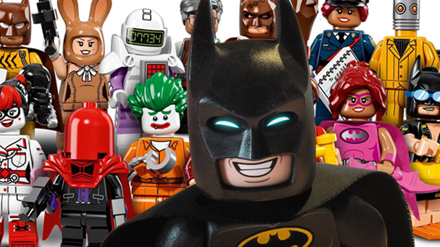 Check out 40 different LEGO Batman characters!