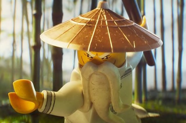 New LEGO Ninjago Movie images with Jackie Chan's Master Wu