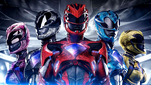 Zords rule the new Power Rangers movie poster.