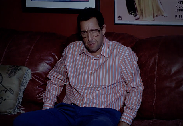Adam Sandler Gets Kvetchy in New Sandy Wexler Clip