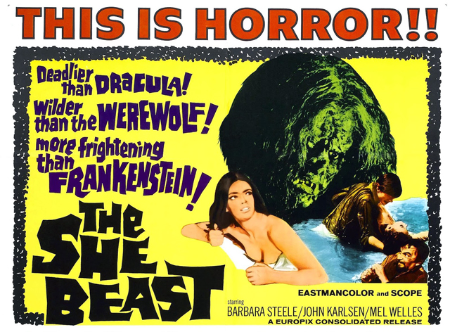 THE SHE BEAST_US poster