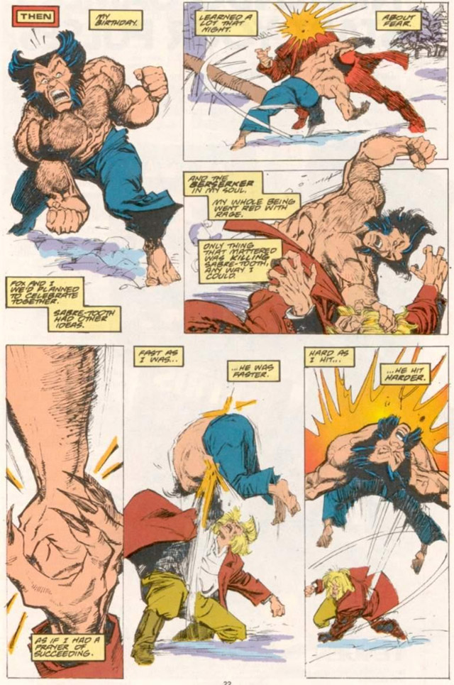 The Wolverine comics provide a lot of information about Logan's past.