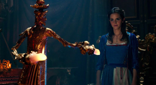 Watch the Beauty and the Beast Oscars Spot