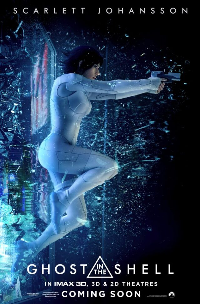 Two new Ghost in the Shell posters have been released featuring Scarlett Johansson and the robot geisha