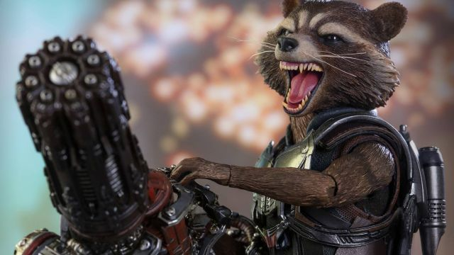 Rocket Raccoon Hot Toy from Guardians of the Galaxy Vol. 2 Revealed