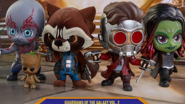 Hot Toys Reveals Guardians of the Galaxy Vol. 2 Cosbaby Figures