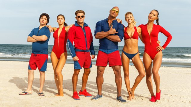 Baywatch was one of the films featured in the Paramount CinemaCon presentation.