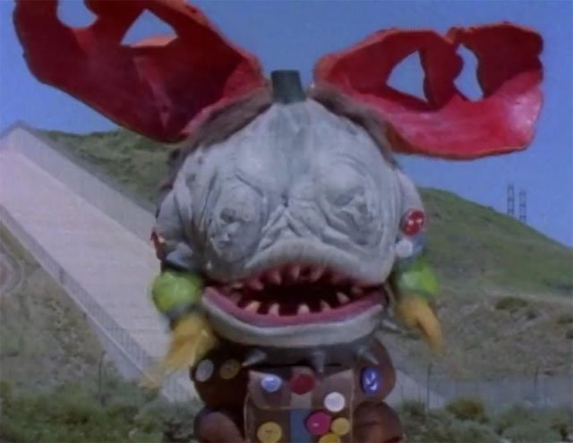 The Power Rangers monsters list wouldn't be complete without Face Stealer!