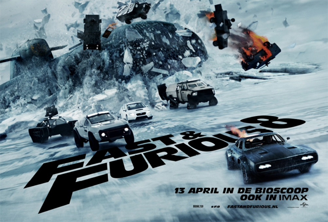 Image result for the fate of the furious 2017 poster