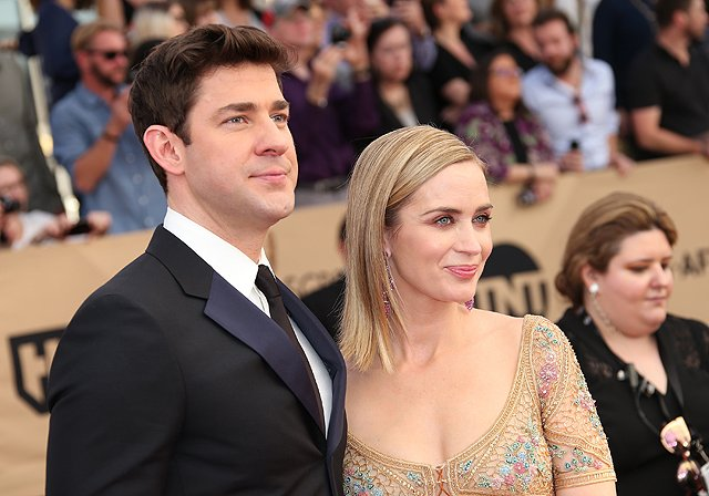 Emily Blunt and John Krasinski Are Starring in Their First Movie Together