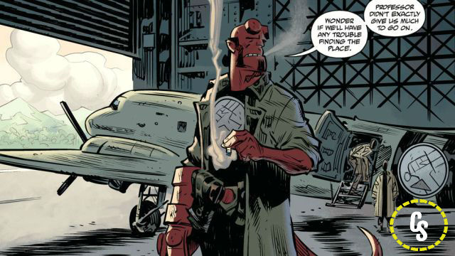 Exclusive: Hellboy and the BPRD: 1954 – Ghost Moon #1 Preview