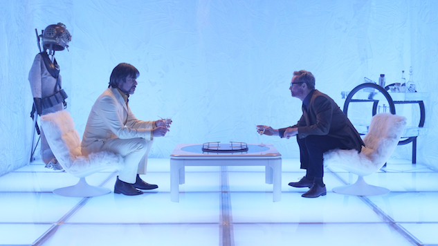 """LEGION -- """"Chapter 7"""" – Season 1, Episode 7 (Airs Wednesday, March 22, 10:00 pm/ep) -- Pictured: (l-r) Jemaine Clement as Oliver Bird, Bill Irwin as Cary Loudermilk. CR: Michelle Faye/FX"""