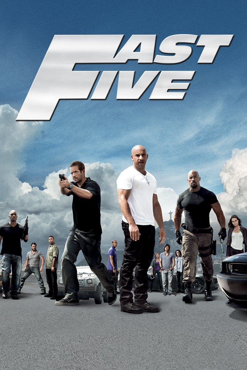 Fast Five is next in the Fast and Furious franchise.
