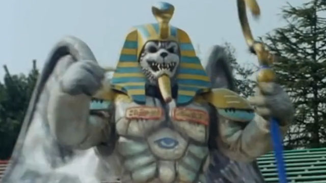 King Sphinx is one of the most popular Power Rangers monsters.