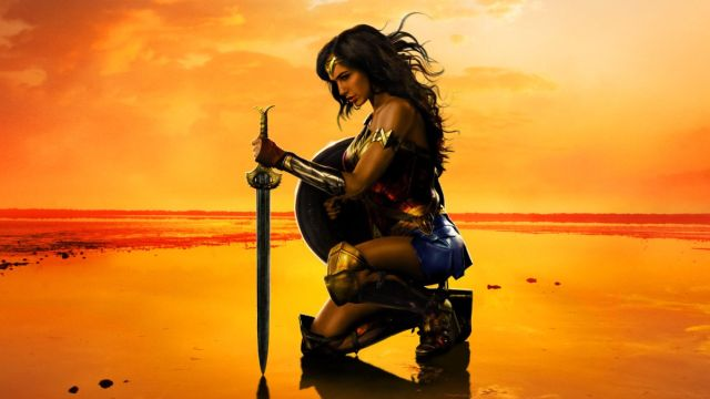 Bask in the Glory of the New Wonder Woman Poster
