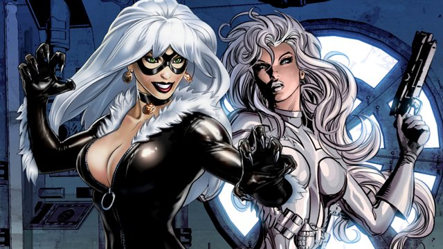 A Silver Sable and Black Cat movie is being planned!