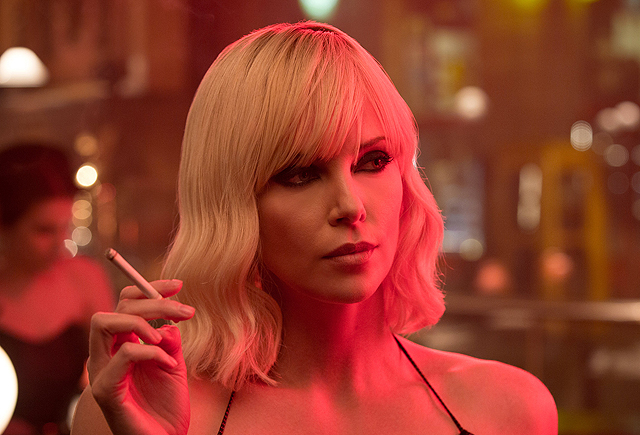 Lesbian sex, violence and Charlize Theron: Atomic Blonde trailer and gallery