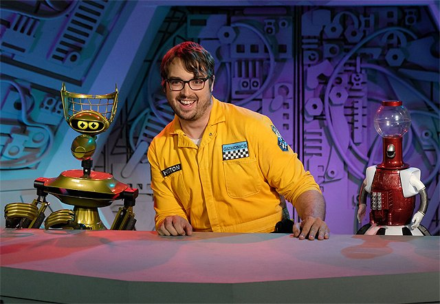 Jonah Ray Talks Hosting the New Mystery Science Theater 3000
