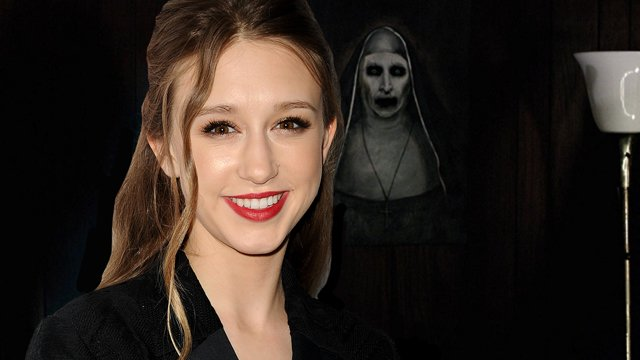 Taissa Farmiga has joined the Conjuring Spinoff the Nun. Taissa Farmiga is the sister of The Conjuring's Vera Farmiga.
