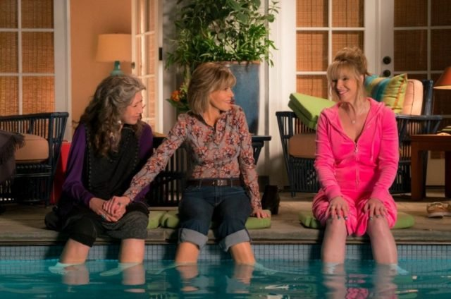 Netflix renews Grace and Frankie for season 4 and adds Lisa Kudrow