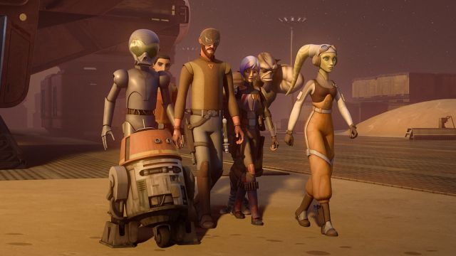Star Wars Rebels Season 4 Panel Live Stream from Star Wars Celebration
