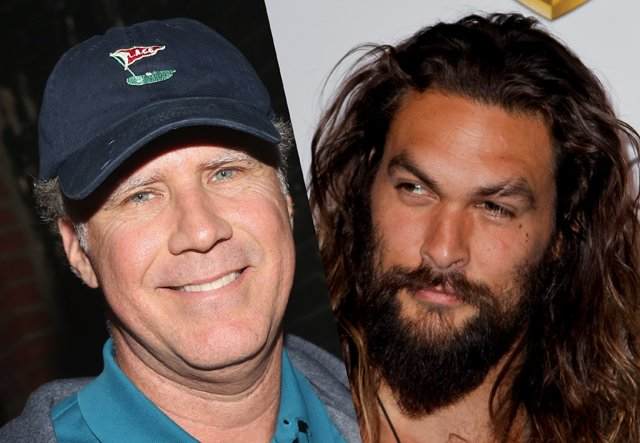 Will Ferrell & Jason Momoa Comedy in the Works at Paramount