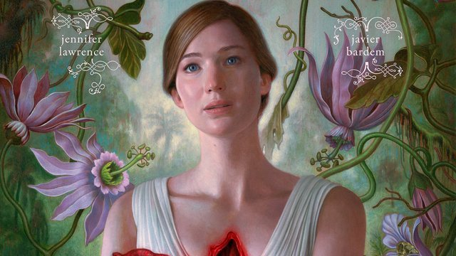 Jennifer Lawrence rips out her own heart on the Mother! poster. Check out the Mother! poster here.