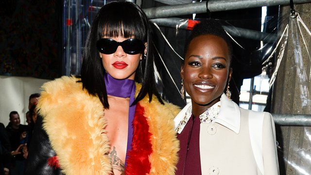 Rihanna, Lupita Nyong'o buddy film is a go at Netflix