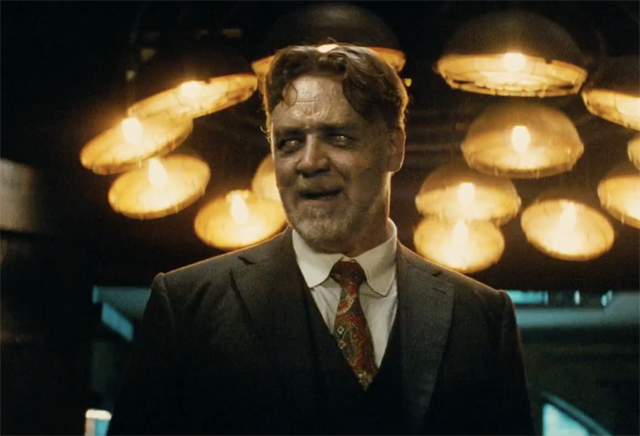 WATCH a First Look at Russell Crowe's Mr. Hyde in The Mummy