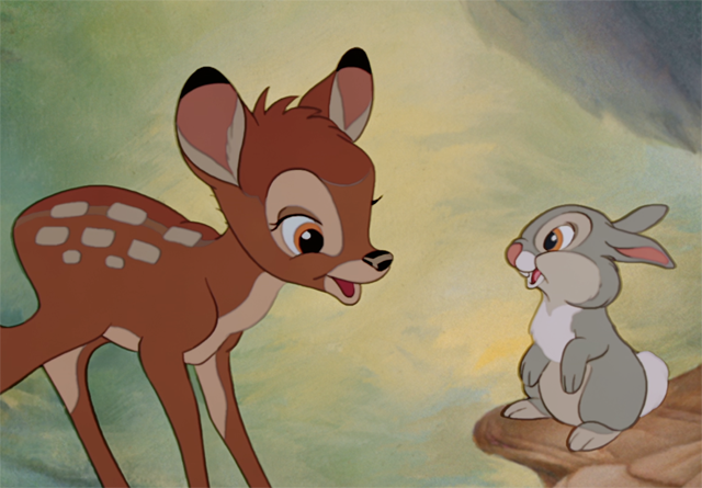 Bambi and Thumper in an Exclusive Disneygraph Video