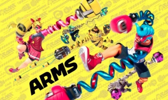 All the info and new video for the upcoming game Nintendo ARMS
