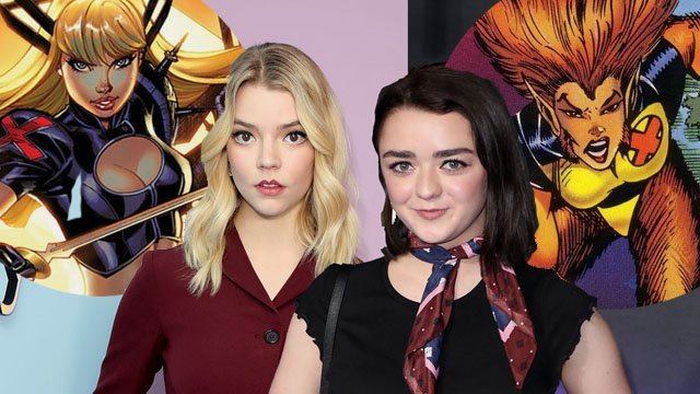 It's Official! Anya Taylor-Joy and Maisie Williams Join New Mutants Cast
