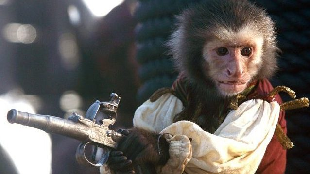No Pirates of the Caribbean characters guide would be complete without a monkey!