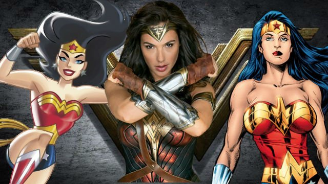 Wonder Woman Origins and Evolutions