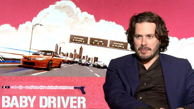 Sit down with Baby Driver writer and director Edgar Wright. Edgar Wright reveals a cool cameo.