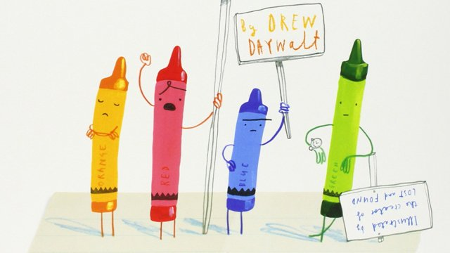 The Day the Crayons Quit is becoming a movie. Have you read The Day the Crayons Quit?