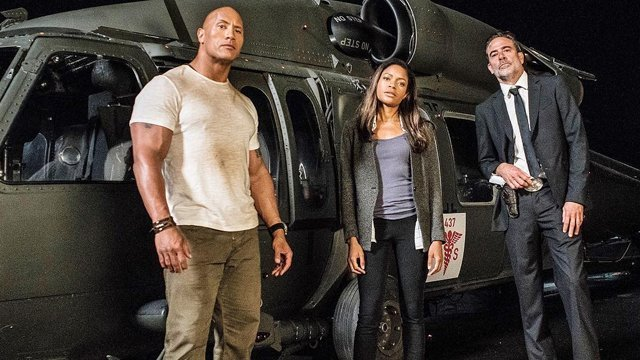 Check out new Rampage set photos. These Rampage set photos were shared by Dwayne Johnson.