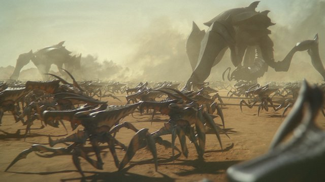 Check out the trailer for the new animated Starship Troopers movie, Traitor of Mars.